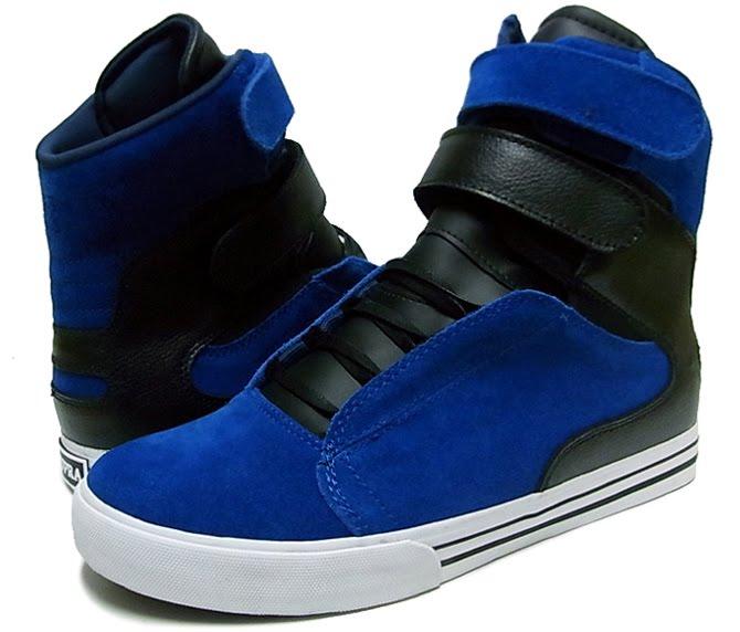 SUPRA TK SOCIETY ROYAL BLUE/BLACK SNEAKERS!!!