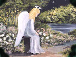 Meditating Angel