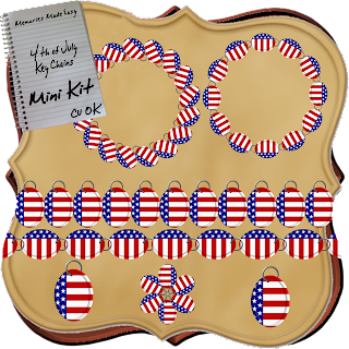 4th Of July Mini Kits (2 types) 4thJulyKeyChainMiniKit-PREVIEW