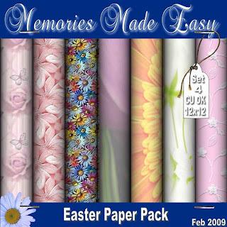 Mega Easter Paper Packs MME_Paper_EasterSet4_PREVIEW