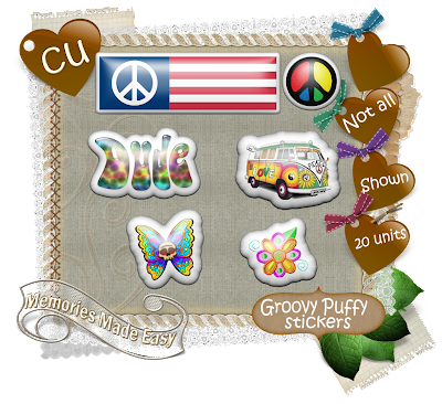 Groovy Baby {Part 1 thru 6} (Memories Made Easy) MME_GroovyPuffyStickers_Preview
