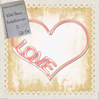 Word Frame -- Love -- MME WordFrame-01-PREVIEW