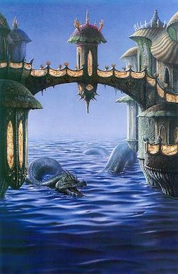 Kaederland Afiliacion Fantasy+Art+-+Ciruelo+Cabral+-+Sea+Monster+I