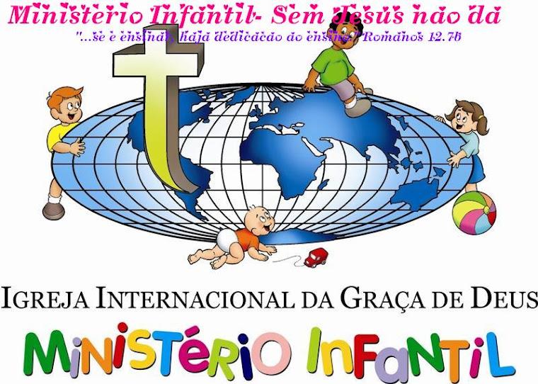 Ministério Infantil - Sem Jesus nao dá