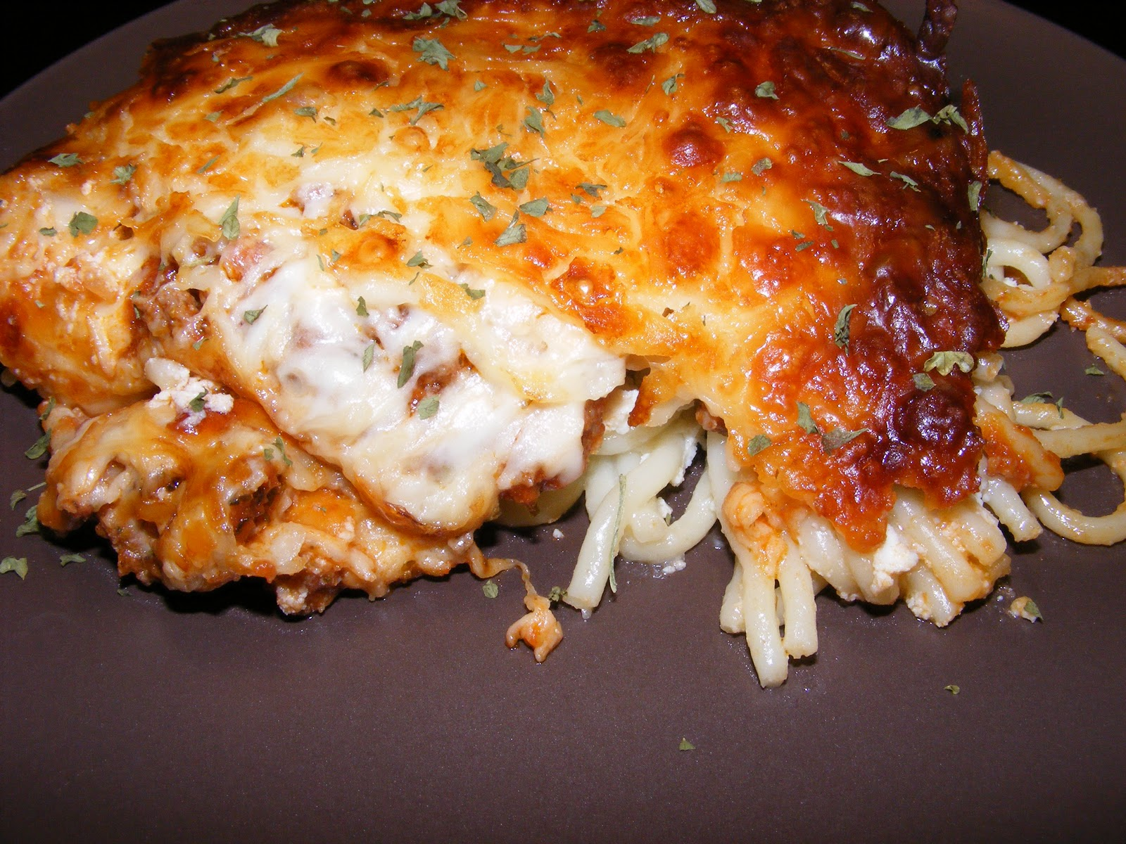 The Recipe Review: Baked Spaghetti