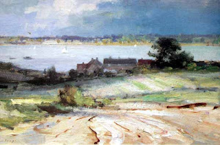 landscape by EDWARD SEAGO