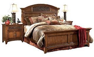 Ashley furniture larabee for Ashton castle bedroom set by ashley