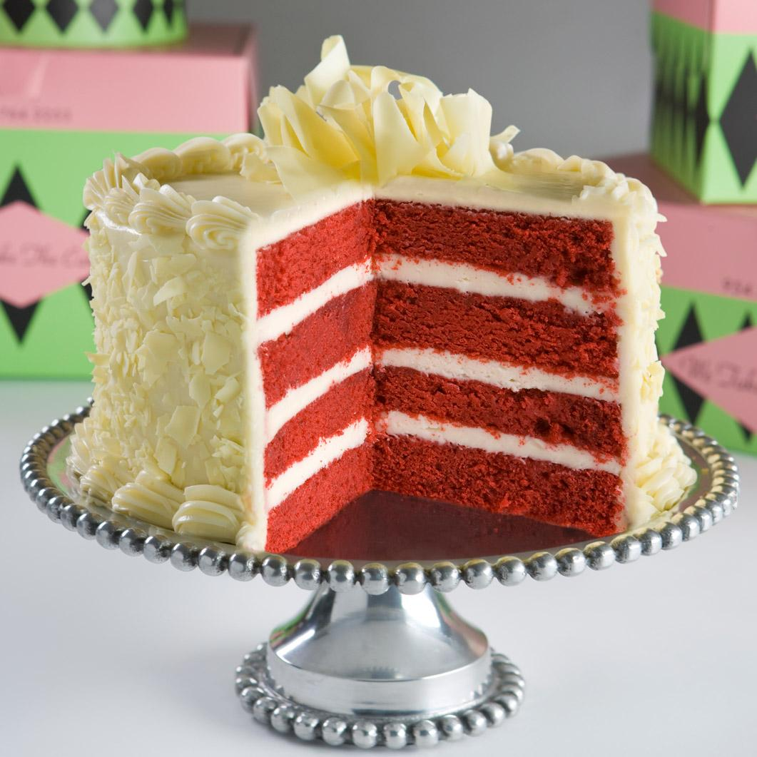 One Layer White Cake