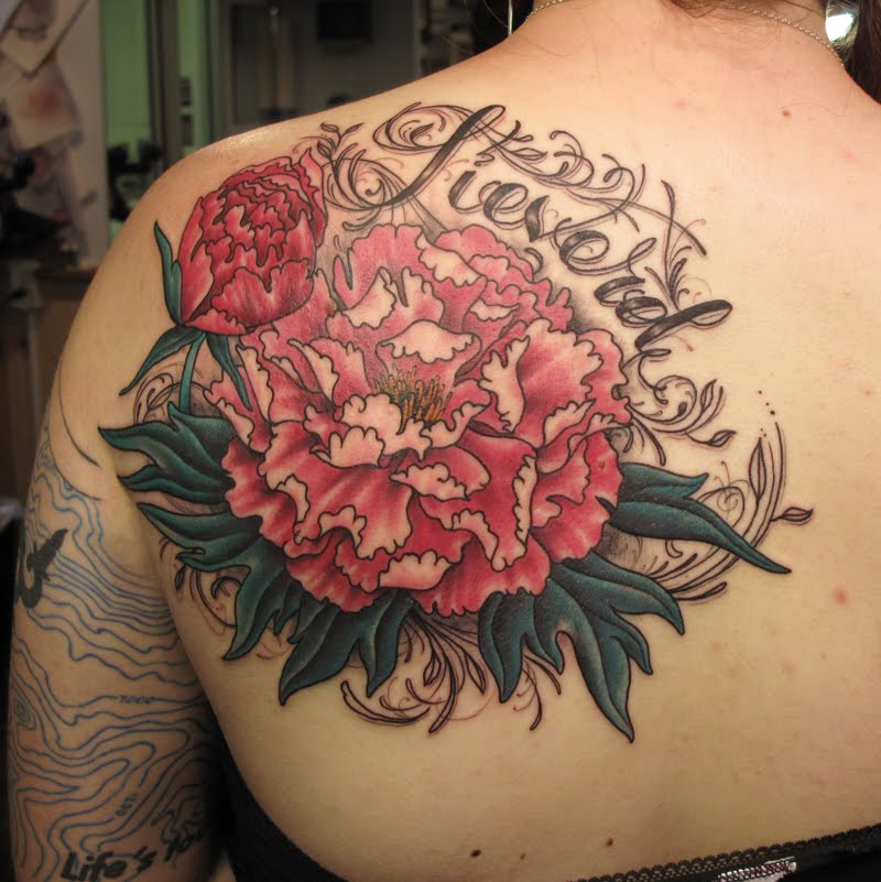 of elements I especially enjoy tattooing flowers lettering filigree