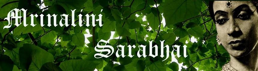 Mrinalini Sarabhai