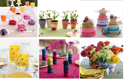 Rachel Ray Centerpieces Collage