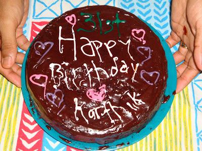 Cake Images Kartik : Diddyjean: Karthik s 31st Birthday