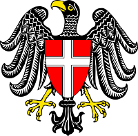 State coat of arms Vienna
