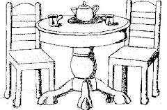 Have a Cup of Tea With Me ... 'Round the Table
