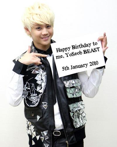 (L) Yo Seob (L) Yoseob-birthday