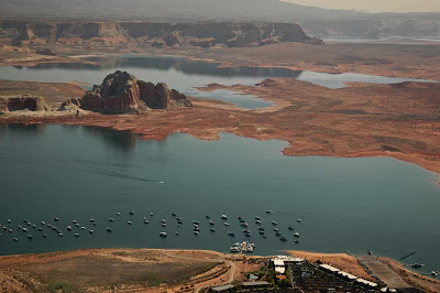 Lake Powell Resort's magnificent setting