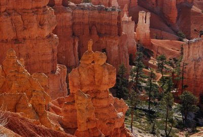 our Texas friends call this rock formation in the middle as bunny kissing squirrel!
