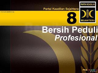 PKS - Bersih, Peduli Dan Profesional