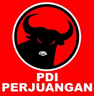 Logo Partai PDI Perjuangan - PDIP