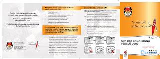 Booklet Apa dan Bagaimana Pemilu 2009 - 2