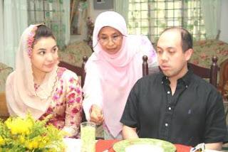Manohara Odelia Pinot dan Tengku Muhammad Fakhry
