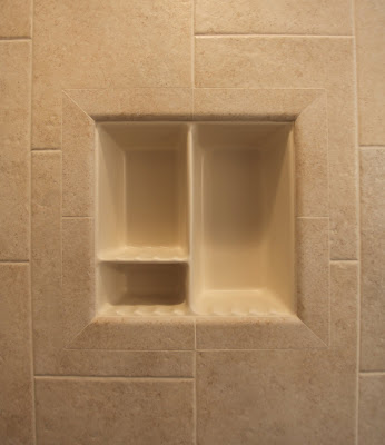 Kitchen on Clean Lines On This Recessed Shower Shampoo Niche   Bull Nose Ceramic