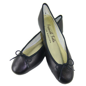French Sole ballet pumps size 5