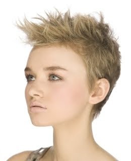 Very Short Choppy Pixie Hairstyles