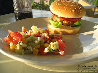 junk food hamburger dinde recette fait maison