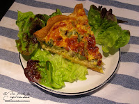 quiche thon courgette parmesan entree plat complet