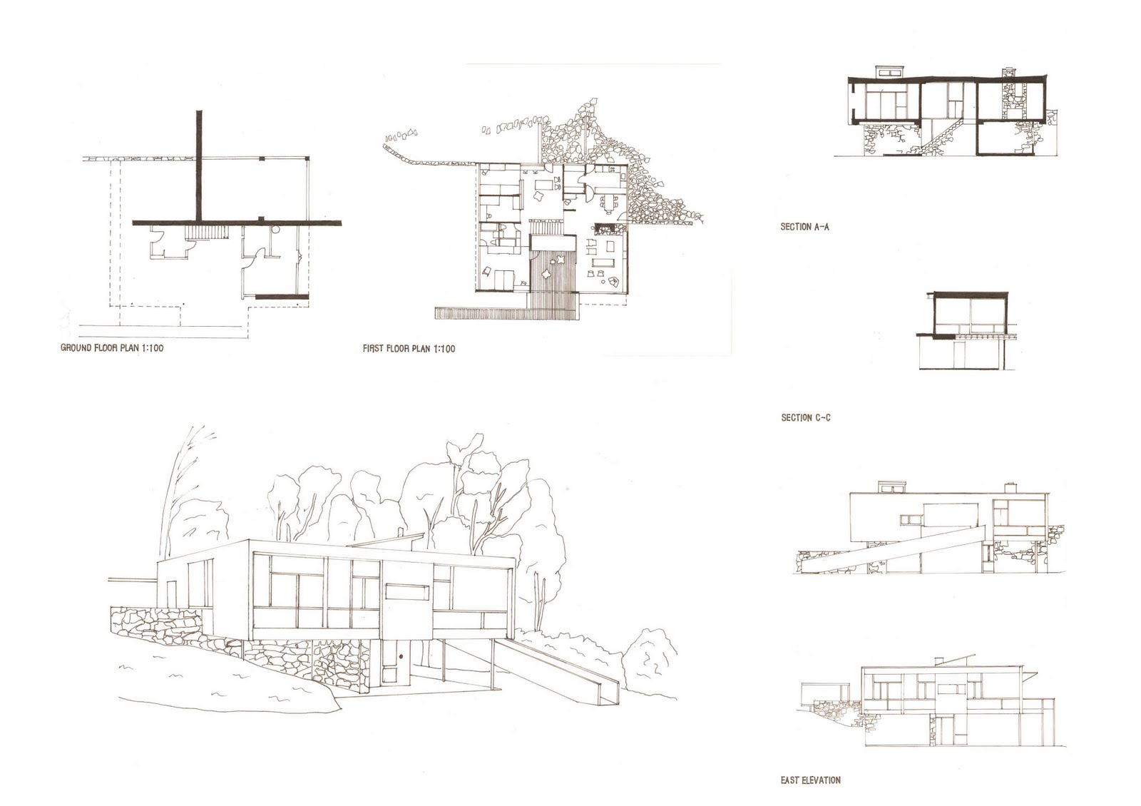 kyuil leeFinal submission for the Rose Seidler House drawings   Since I wanted to keep all the informations clear in the drawings  I made the drawings simple