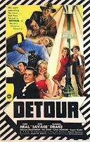 Poster for 'Detour' (1945)