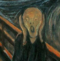 Edvard Munch, 'The Scream' (detail)