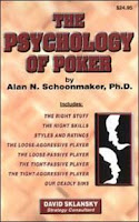 'The Psychology of Poker' by Dr. Al Schoonmaker