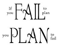 Fail to Plan, Plan to Fail