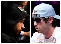 Jonathan Duhamel and John Racener battle tonight for the 2010 WSOP Main Event bracelet