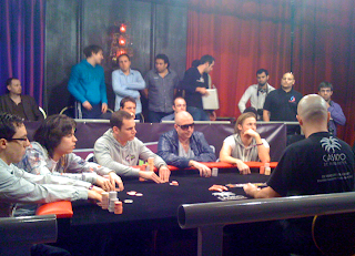 The final table at WPT Marrakech