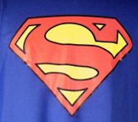 David Saab wore a Superman T-shirt at the 2008 WSOP