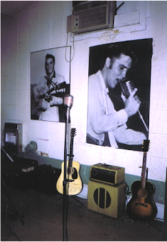 Elvis memories inside of Sun Studio