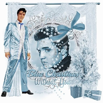 Elvis' Blue Christmas-Looks like a Hunka Hunka Gorgeous Christmas to me!
