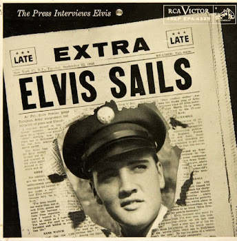 """Elvis Sails!""  Press Interview on September 22, 1958"