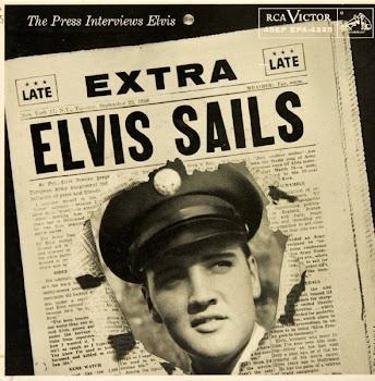 """""""Elvis Sails!""""  Press Interview on September 22, 1958"""