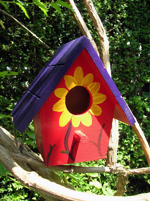 Donna 39 S Art At Mourning Dove Cottage Purple Red And