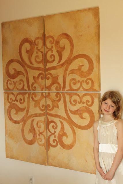 American Clay with Medello Design Swirl