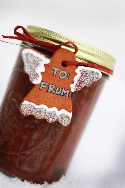 cinnamon ornament gift tag idea