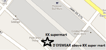 D`EYEWEAR's Location