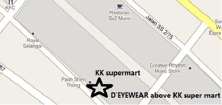 D`EYEWEAR's Location