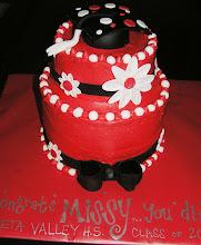 Missy's Graduation Cake