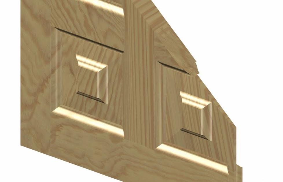 Dise os en madera dise o puertas castellanas for Puerta castellana pino