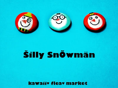 Rings Collection #5 - Silly Snowman